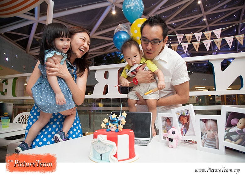 1st Year Birthday Party Photographer Kuala Lumpur Picture