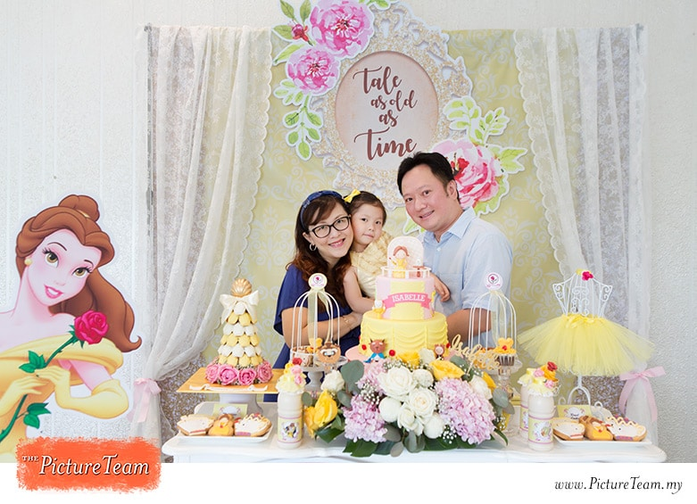 Beauty And The Beast Theme Birthday Party The Picture Team